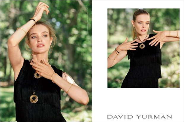 Natalia Vodianova, Jean Campbell & Dilone Star in David Yurman FW16 (6 pics)