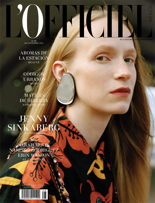 L'Officiel Mexico November 2016 Cover Story Starring Jenny Sinkaberg