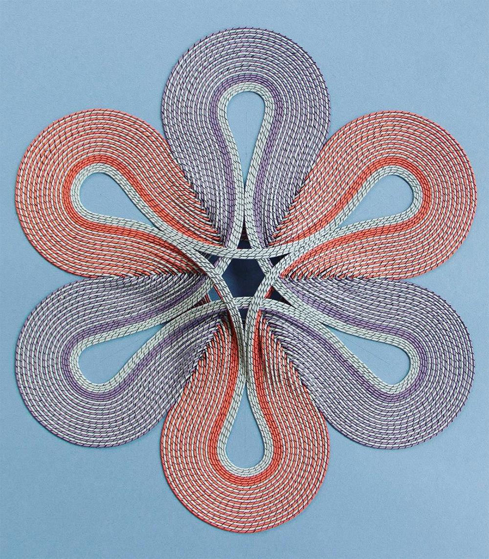 Intricate Rolled Paper Tapestry Designs by Gunjan Aylawadi