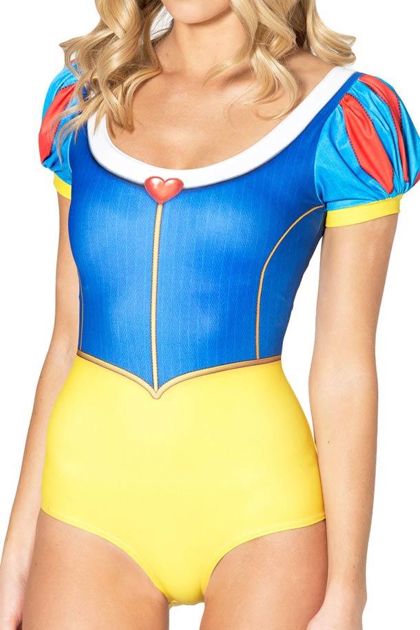 The Snow White swimsuit by Black Milk (5 pics)