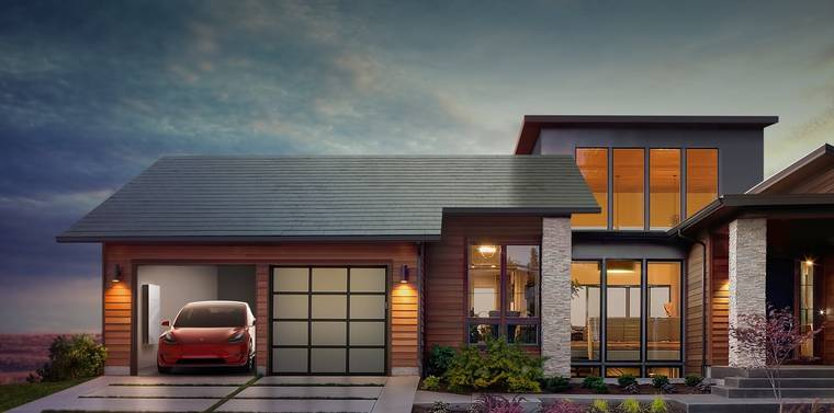Solar Roof – Tesla unveils clever camouflaged solar tiles! (8 pics)