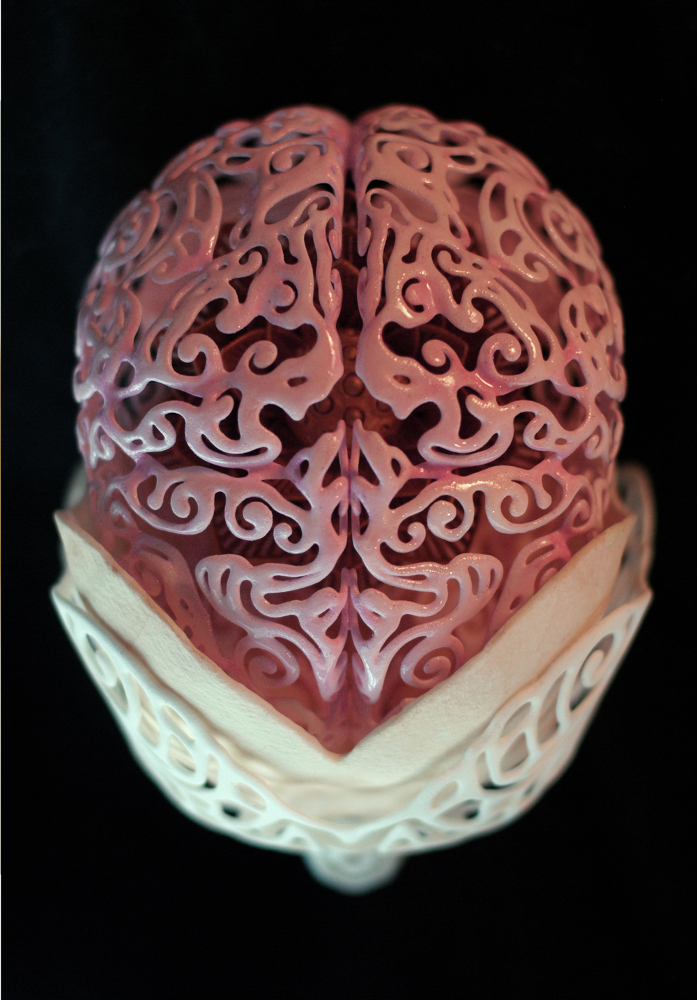 Anatomical 3D Self-Portrait by Joshua Harker