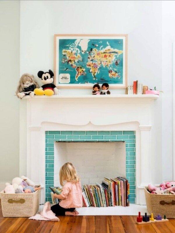 Где хранить детские книги