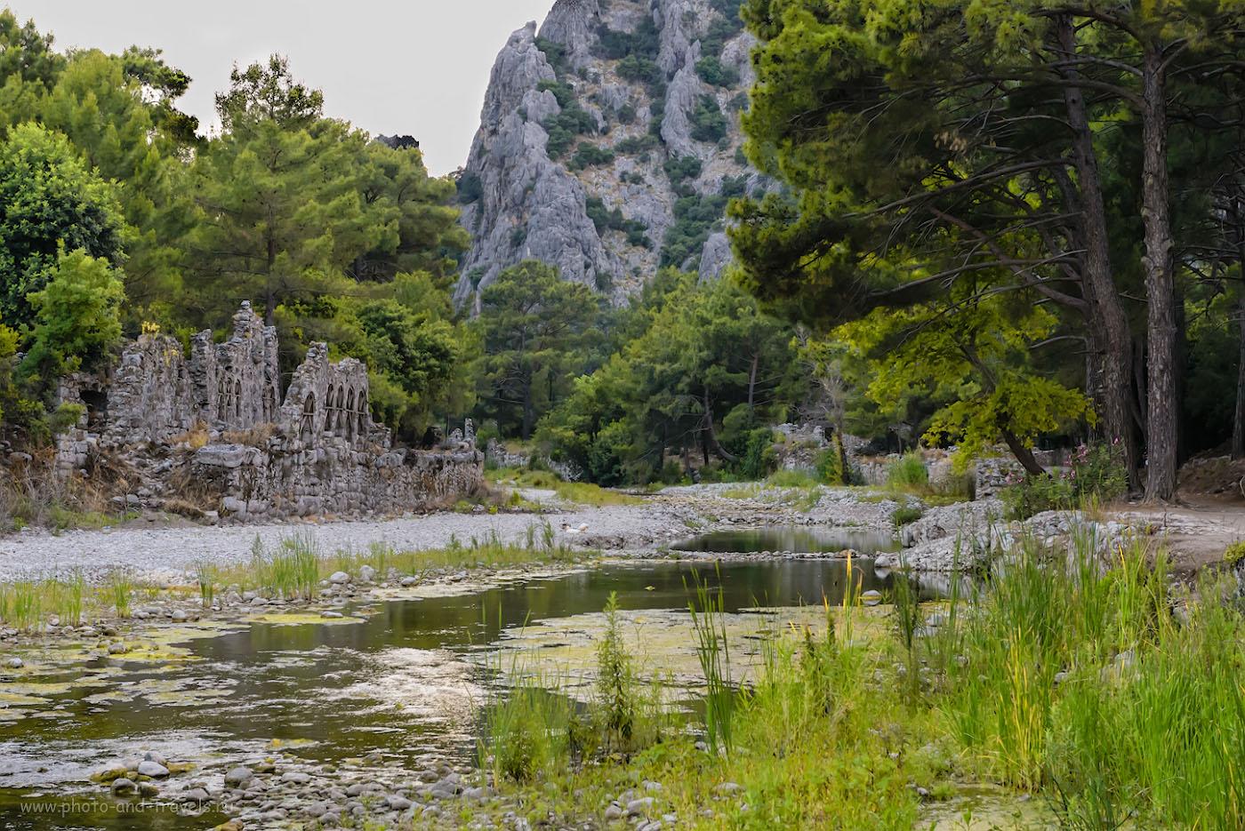 Фотография 20. Ручей, античные развалины. Прикоснись к истории, находясь на отдыхе в Кемере. 1/200, 8.0, 4000, 70.