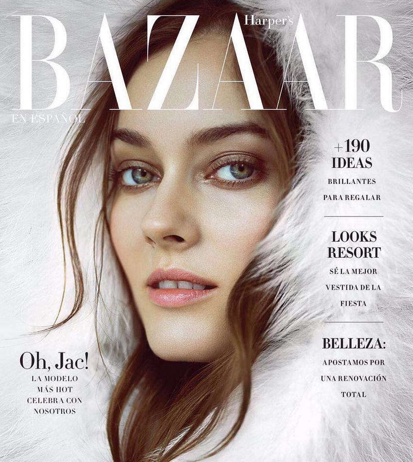 "Monika ""Jac"" Jagaciak - Harper's Bazaar Mexico (Dec 2016/ Jan 2017)"