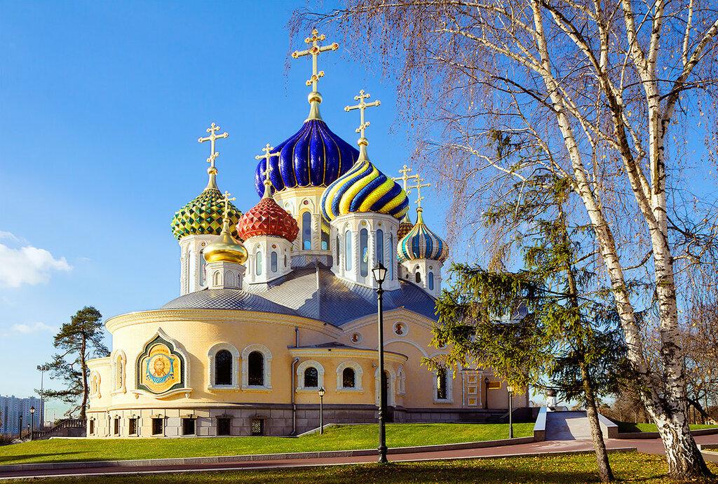 Россия. Храм Спасителя Преображения в Переделкино-1