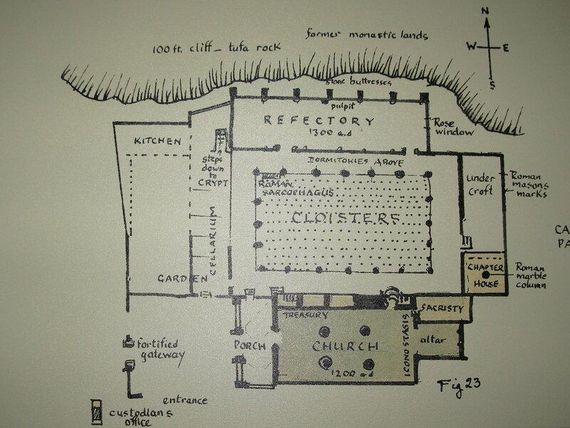Беллапаис. План монастыря