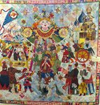 Выставка лоскутного шитья и тряпичных кукол на Красной площади