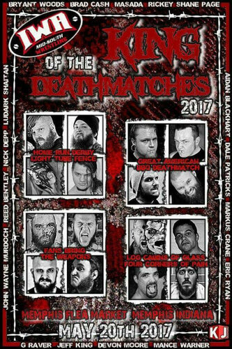 Post image of IWA Mid-South: King Of The Death Matches 2017