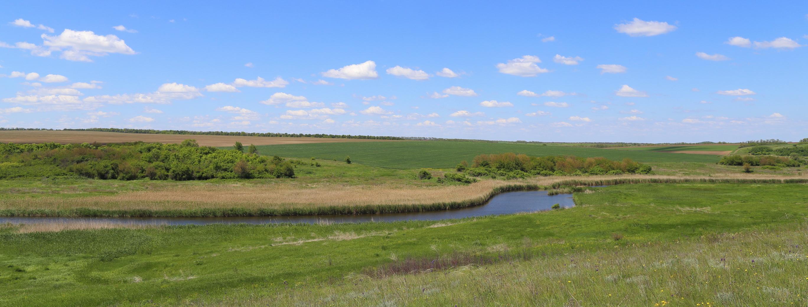 Река Сухой Еланчик и окрестности