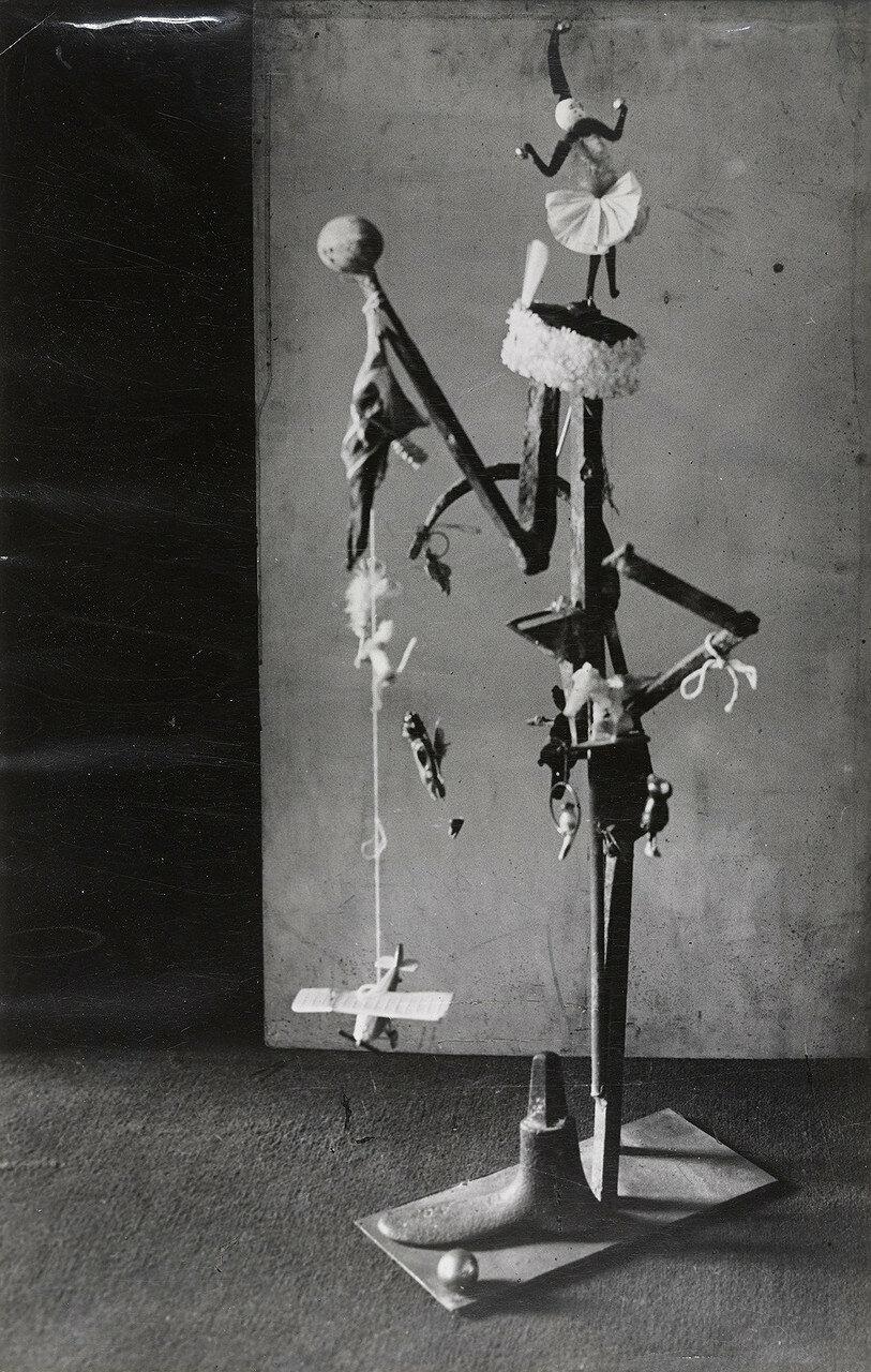 1932. Пикассо. Скульптура (бронза)