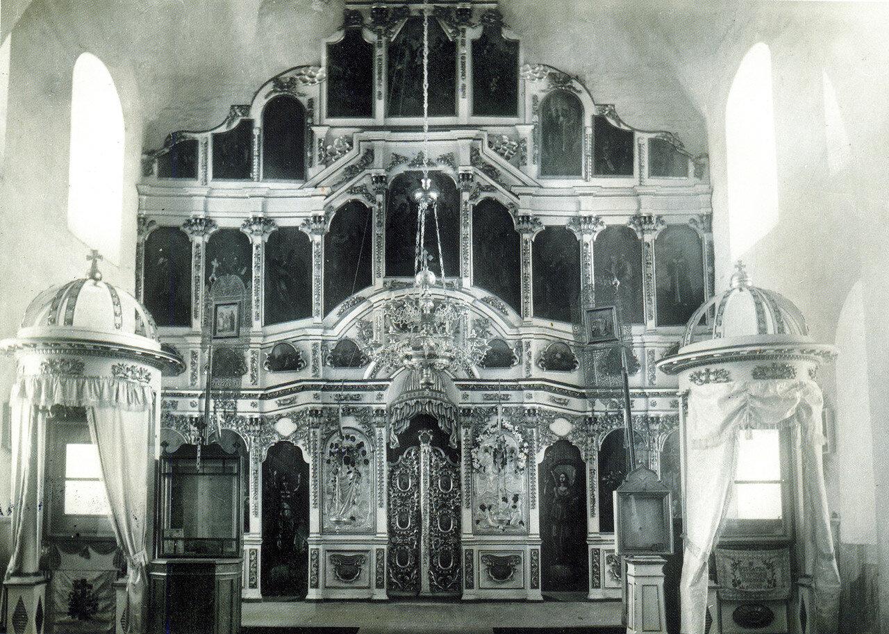 Иконостас Спасо-Преображенской церкви