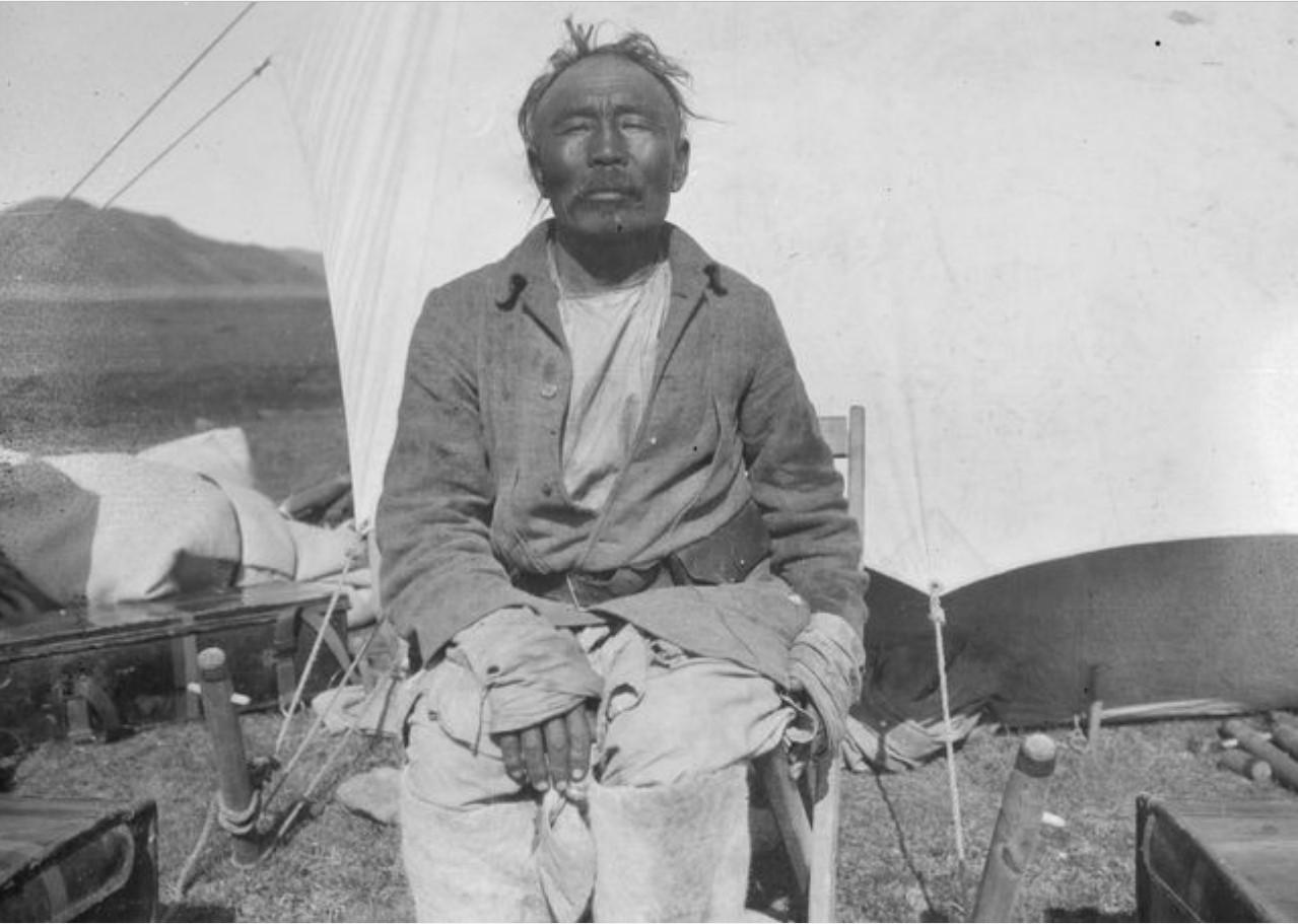 55-летний калмык Намган