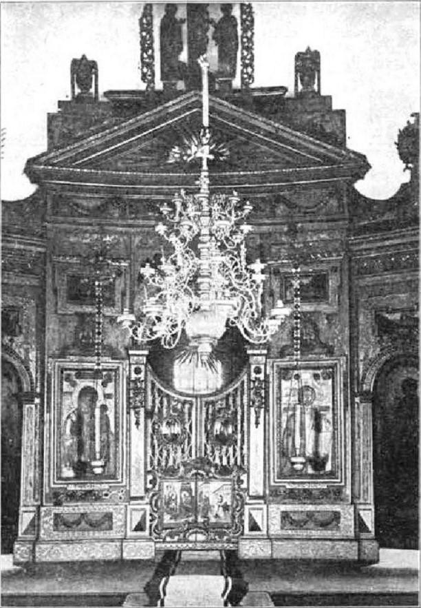 Екатерининская церковь. Иконостас