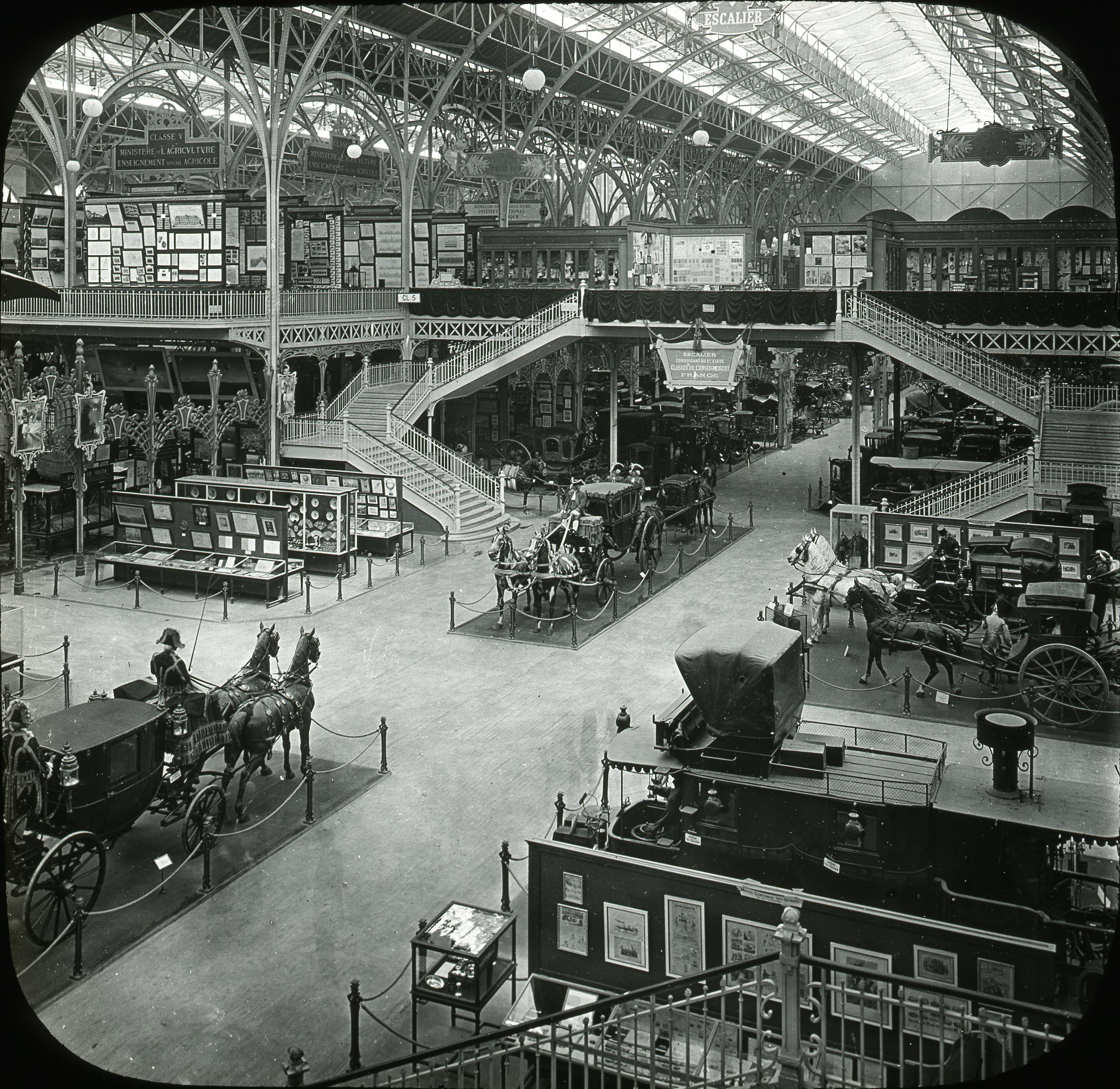 Тематическая выставка «История транспорта»