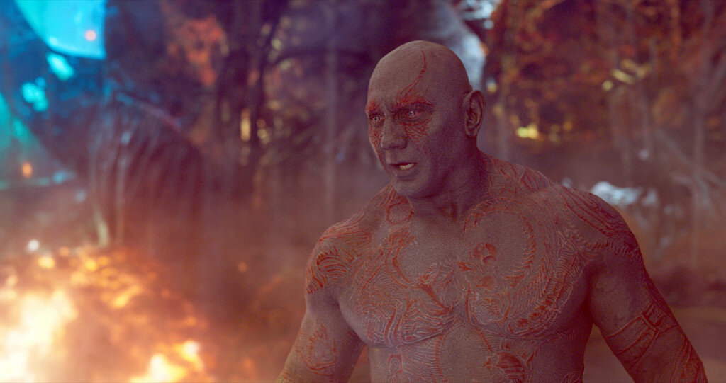 Guardians Of The Galaxy Vol. 2..Drax (Dave Bautista)..Ph: Film Frame..©Marvel Studios 2017