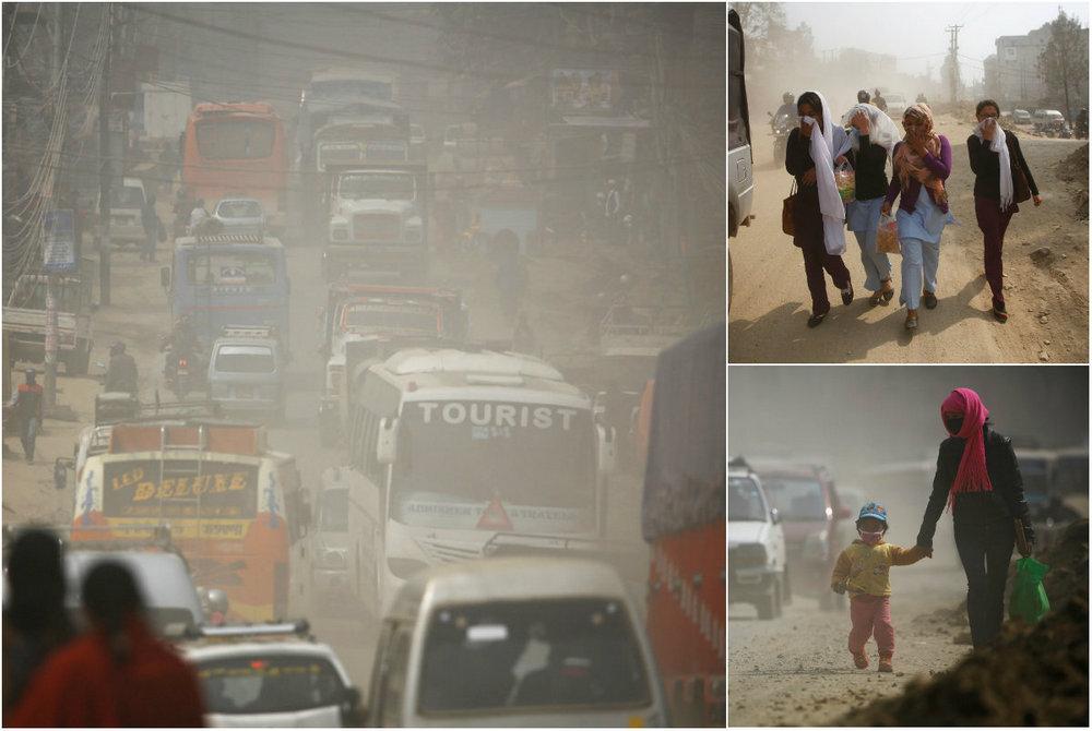 Загрязнение воздуха в Непале
