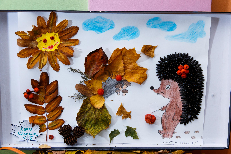 Осенний вернисаж поделки