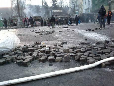 Новый исторический музей в Авдеевке основали брусчаткой с Майдана (видео)