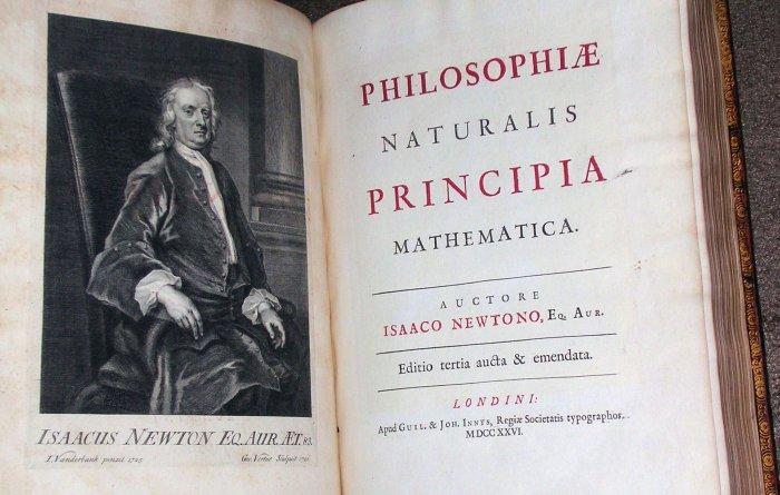 Математика Исаака Ньютон