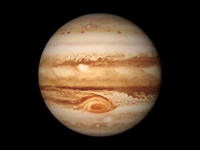 В21 тысячи световых лет отЗемли найден Супер-Юпитер