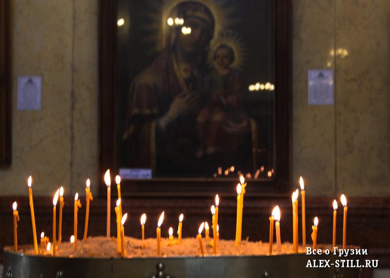 Свечи в Цминде Самебе