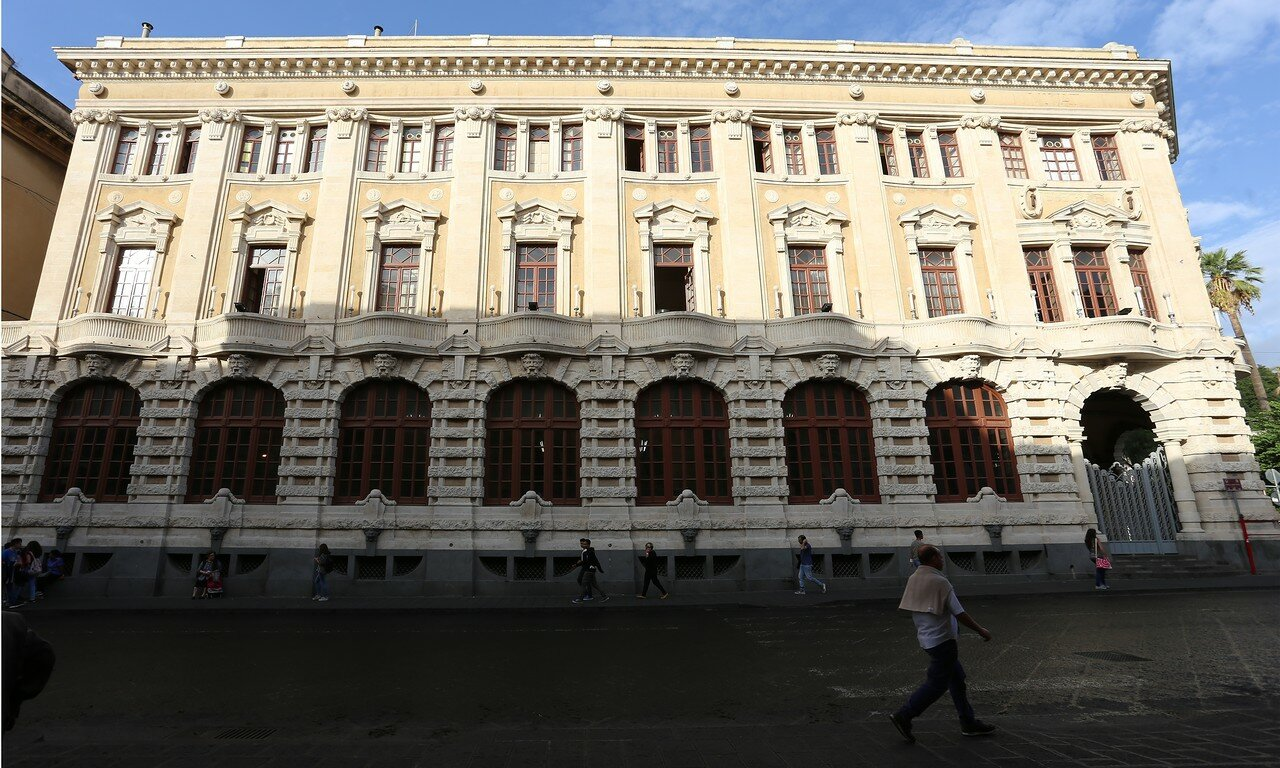 Palace of Post (Palazzo delle Poste), Catania