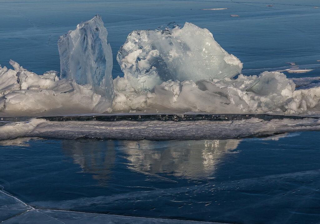 Байкальский лед. Выдавило