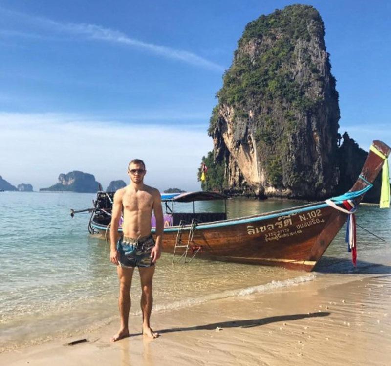 Харатин, Банада и Цуриков тоже решили отдохнуть в Таиланде.