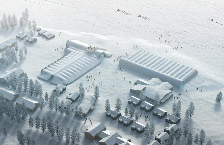 2. Ледяная спальня. (Фото Icehotel.com):
