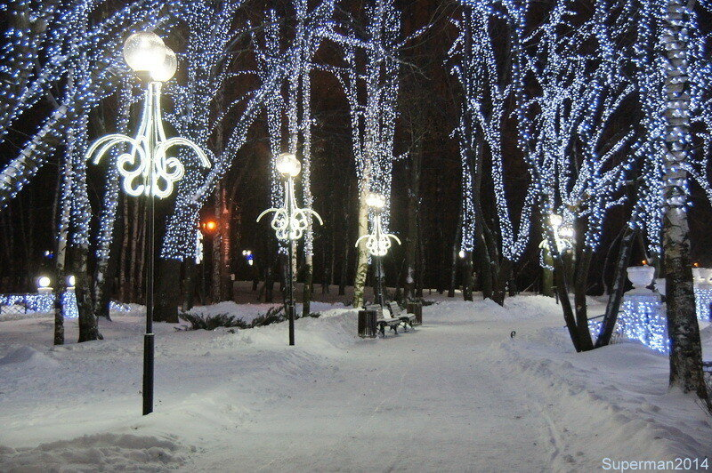 Вечерняя прогулка по Химкам