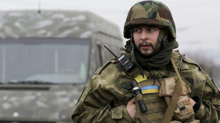 За минувшие сутки ранен один украинский бойц вАвдеевке