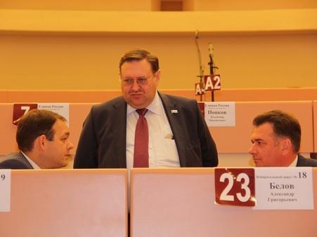 Сергей Наумов покинет пост спикера гордумы