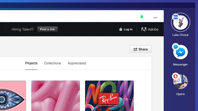 Opera запустила «браузер будущего» Neon сфункциями минидесктопа