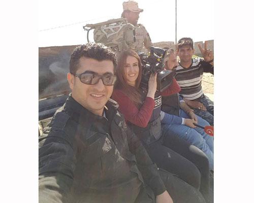 ВИраке погибла военный репортер курдского канала Шифа Гарди