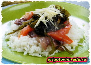 Тираси-суши с семгой