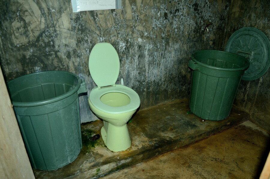 Общий туалет