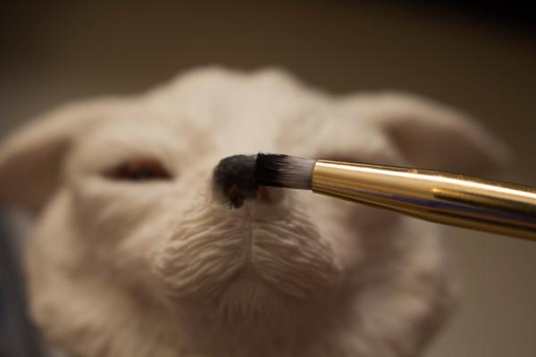 Собака из полимерной глины своими руками