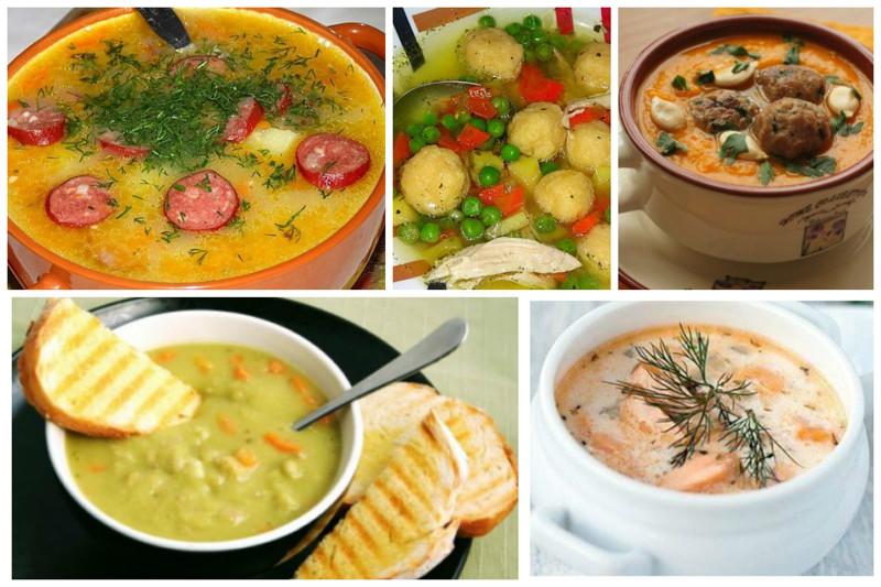 Необычные и несложные первые блюда