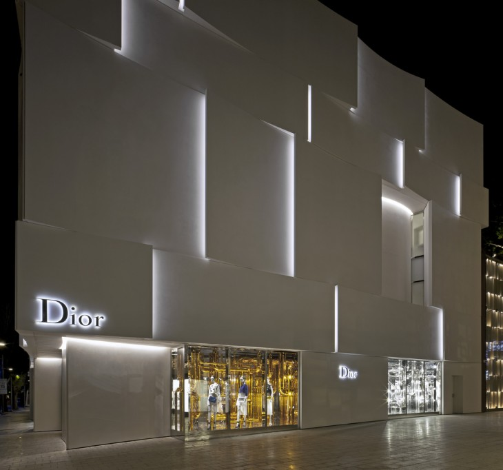 Several Ideas, one intention. The principal stake of the project is to design a building to Dior's i