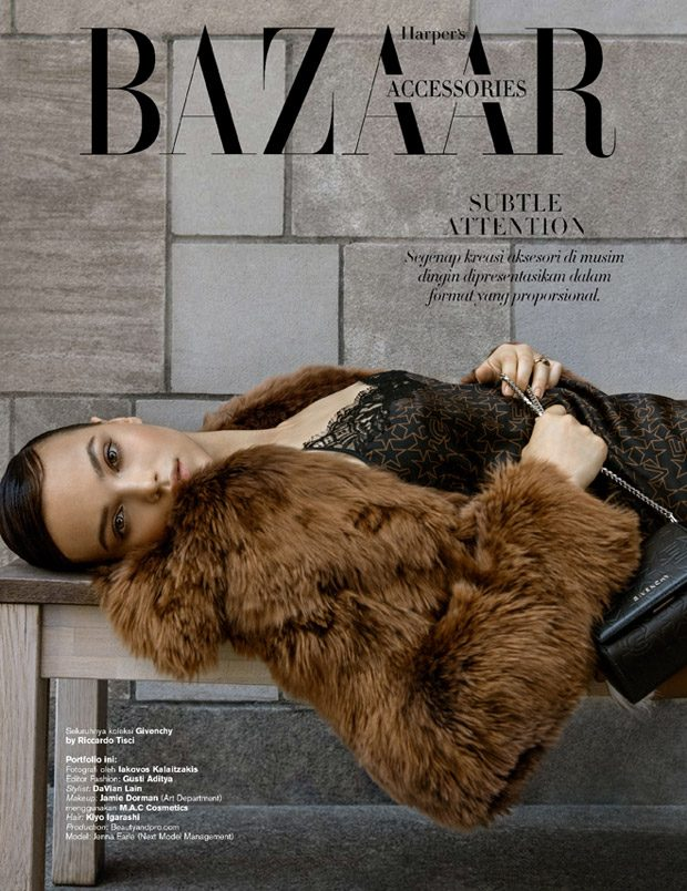 Jenna Earle Models FW16 Accessories for Harper's Bazaar Indonesia