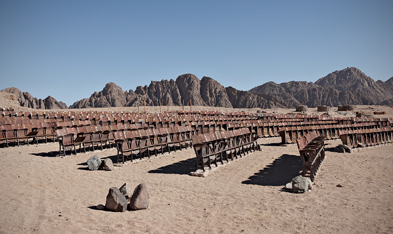 End of the World Cinema: An Abandoned Outdoor Movie Theater in the Desert of Sinai (5 pics)