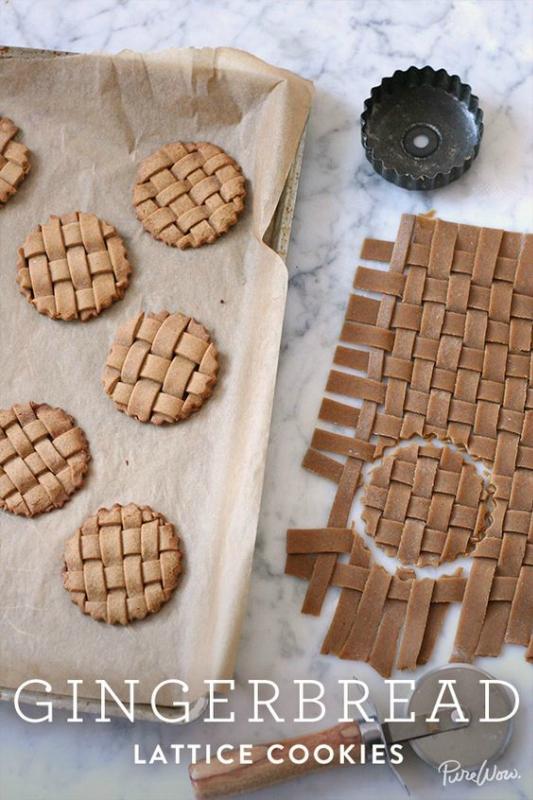 Ёлочные украшения из имбирного печенья