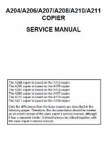 service - Инструкции (Service Manual, UM, PC) фирмы Ricoh - Страница 5 0_1b2aa5_feec058a_orig