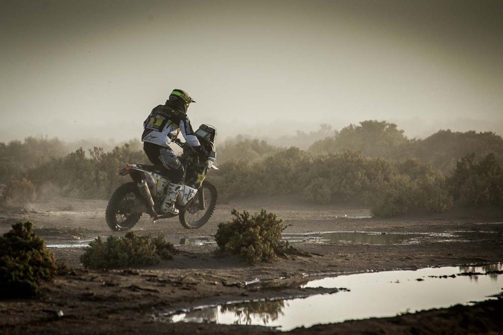 Дакар 2017: Пабло Кинтанилья сошел с дистанции