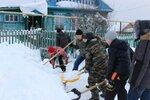 Патриотическая акция «Снежный десант»