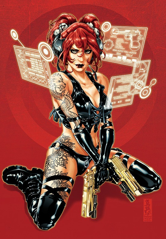 Stunning Comic Illustrations by Mark Brooks