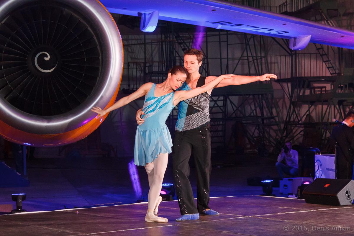 балет самолёт презентация ан-148 саратовские авиалинии вера шарипова фото 4