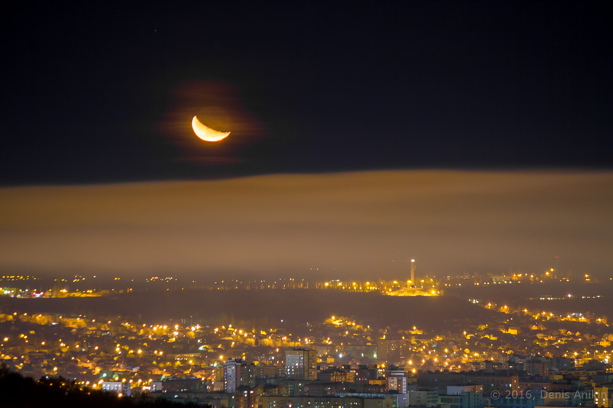 Ночная панорама Саратова фото 5