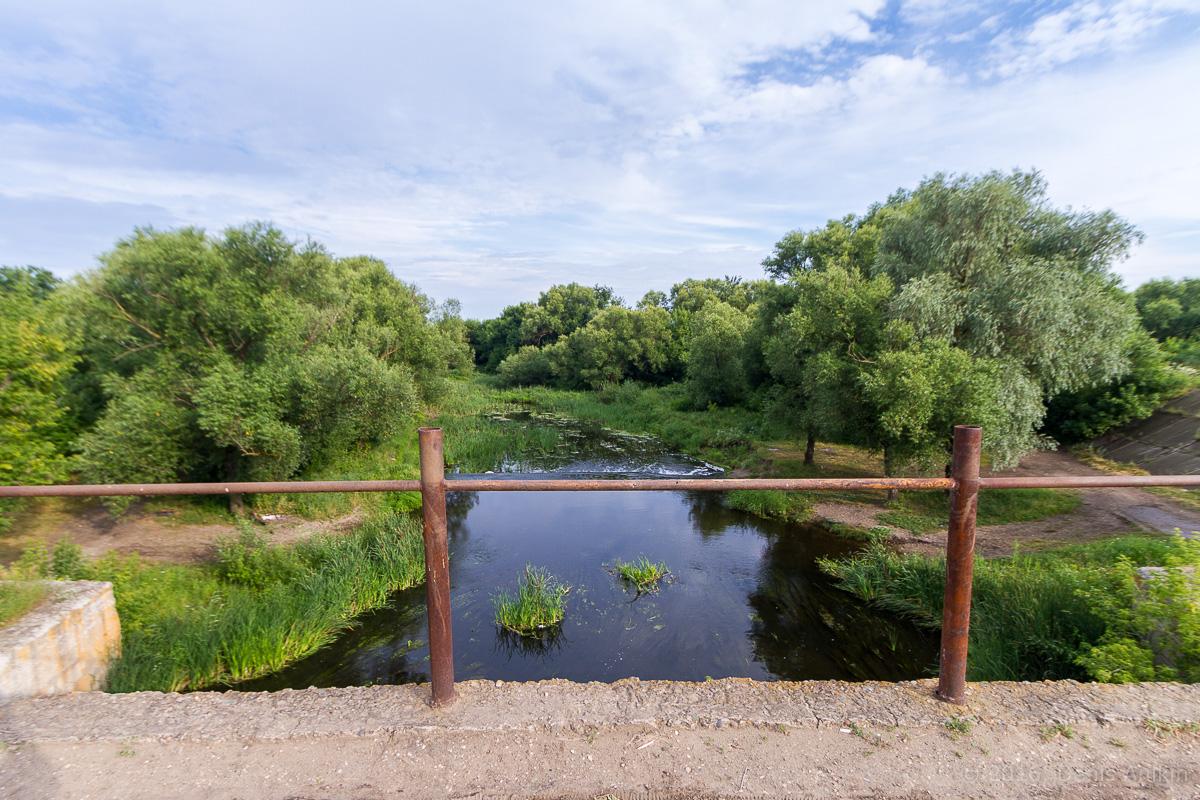 Калининск река Баланда плотина фото 8